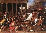 POUSSIN, Nicolas The Destruction of the Temple at Jerusalem afg oil painting picture wholesale