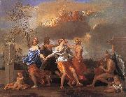 POUSSIN, Nicolas Dance to the Music of Time asfg oil painting picture wholesale