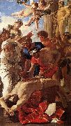POUSSIN, Nicolas The Martyrdom of St Erasmus sg oil painting artist
