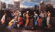 POUSSIN, Nicolas Rebecca at the Well st oil painting picture wholesale