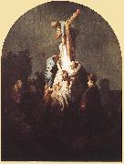 REMBRANDT Harmenszoon van Rijn Deposition from the Cross fgu oil painting artist