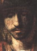 REMBRANDT Harmenszoon van Rijn David and Uriah (detail oil painting artist