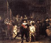 REMBRANDT Harmenszoon van Rijn The Nightwatch oil painting artist