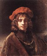 REMBRANDT Harmenszoon van Rijn The Artist's Son Titus du oil painting picture wholesale