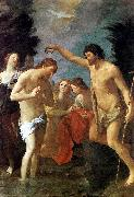RENI, Guido Baptism of Christ xhg oil painting artist