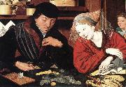 REYMERSWALE, Marinus van The Banker and His Wife rr oil painting picture wholesale