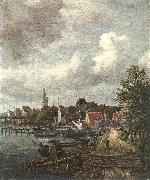 RUISDAEL, Jacob Isaackszon van View of Amsterdam  dh oil painting picture wholesale