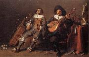 SAFTLEVEN, Cornelis The Duet af oil painting picture wholesale