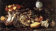 SALINI, Tommaso Still-life with Fruit, Vegetables and Animals f oil painting artist