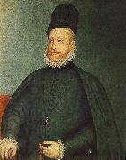 SANCHEZ COELLO, Alonso Portrait of Philip II af oil painting picture wholesale