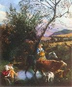 SIBERECHTS, Jan The Ford ar oil painting picture wholesale