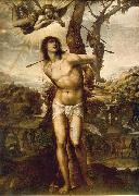 SODOMA, Il St. Sebastian aet oil painting picture wholesale