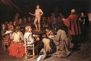 SWEERTS, Michiel The Drawing Class ear oil painting picture wholesale