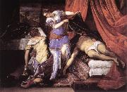 TINTORETTO, Jacopo Judith and Holofernes ar oil painting picture wholesale