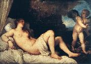 TIZIANO Vecellio Danae oil painting picture wholesale