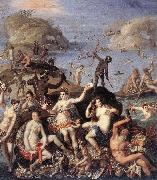ZUCCHI, Jacopo The Coral Fishers awr oil painting artist