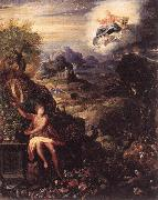 ZUCCHI, Jacopo Allegory of the Creation nw3r oil painting artist