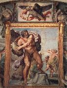 Annibale Carracci Deckengemalde aus der Galleria Farnese oil painting picture wholesale
