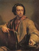 Anton Raffael Mengs Self Portrait oil painting artist