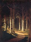 Arkhip Ivanovich Kuindzhi The sun in the park oil painting picture wholesale
