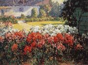Benjamin C.Brown The Joyous Garden-n-d oil painting picture wholesale