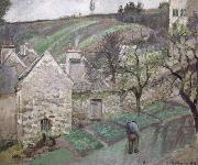 Camille Pissarro Hill at L-Hermitage,Pontoise Coteau de L-Hermitage,Pontoise oil painting picture wholesale