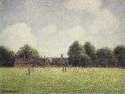 Camille Pissarro Hamton Court Green oil painting picture wholesale