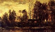 Charles Francois Daubigny Soleil Coucbant oil painting picture wholesale