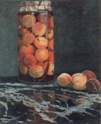 Claude Monet Jar of Peaches oil painting picture wholesale