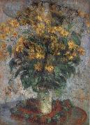Claude Monet Jerusalem Artichoke Flowers oil painting picture wholesale