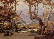 Elmer Wachtel Golder Autumn,Cajon Pass oil painting picture wholesale