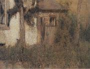 Fernand Khnopff In Fosset The Farmhouse Garden oil painting picture wholesale