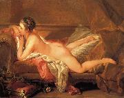 Francois Boucher Reclining Gril Sweden oil painting artist