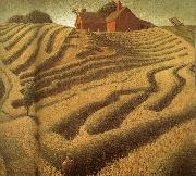 Grant Wood Make into Hay oil painting picture wholesale