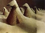 Grant Wood January oil painting picture wholesale