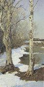 Ilya Ostroukhov Early Spring oil painting picture wholesale