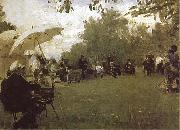 Ilya Repin At the Academy-s House in the Country oil painting picture wholesale