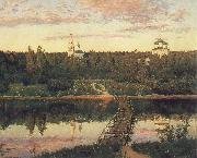 Isaac Ilich Levitan The Quiet Monastery oil painting picture wholesale