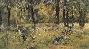 Ivan Shishkin The lawn in the forest oil painting picture wholesale