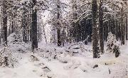 Ivan Shishkin Winter oil painting picture wholesale