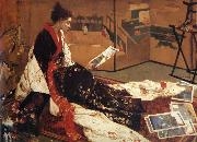 James Abbot McNeill Whistler Caprice in Purple and Gold oil painting picture wholesale
