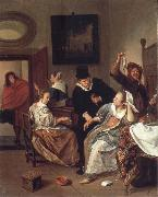 Jan Steen The Doctor-s vistit oil painting