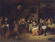 Jan Steen Peasant wedding oil painting picture wholesale