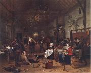 Jan Steen Merry Company in an inn oil painting picture wholesale