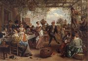 Jan Steen The Dancing couple oil painting picture wholesale