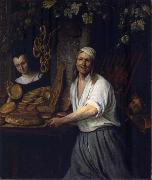 Jan Steen The Leiden Baker Arent Oostwaard and his wife Catharina Keizerswaard oil painting