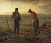 Jean Francois Millet The Angelus oil painting picture wholesale