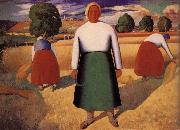 Kasimir Malevich Harvest season oil painting picture wholesale