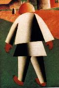 Kasimir Malevich Gossoon oil painting reproduction