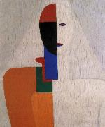 Kasimir Malevich Half-length of Female oil painting picture wholesale